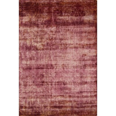 Youmans Tibetan Hand Loomed Wool Rust Area Rug Rug Size: Rectangle 8 x 10