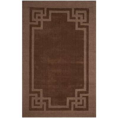 Manheim Frame Hand Woven Wool Bay Colt Area Rug Rug Size: Rectangle 4 x 6