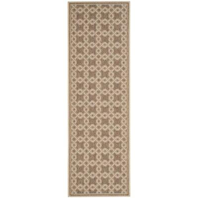 Joliet Brown/Cream Area Rug