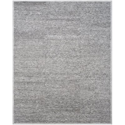 Lidia�dia Hand-Knotted Gray Area Rug Rug Size: Rectangle 6 x 9