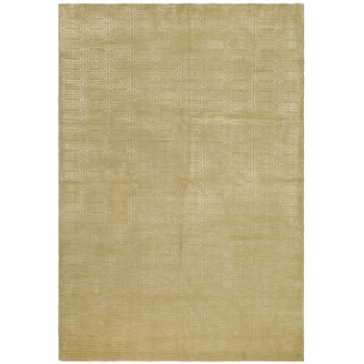 Paramkusham Tibetan Hand Knotted Beige Area Rug Rug Size: Rectangle 10 x 14