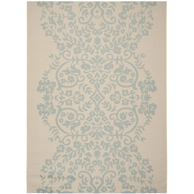 Joliet Tapestry Rain Water Area Rug Rug Size: Rectangle 53 x 77