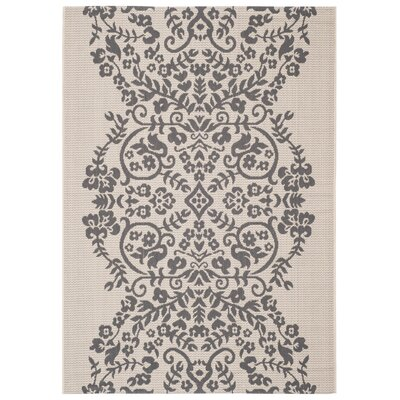 Joliet Tapestry Hickory Area Rug Rug Size: Rectangle 53 x 77