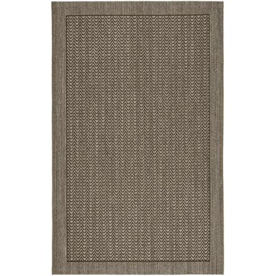 Huxley Slate Area Rug Rug Size: Rectangle 4 x 6