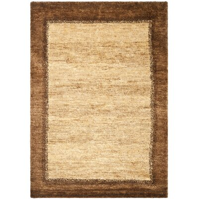 Clayton Hand-Knotted Delta Brown Area Rug Rug Size: Rectangle 2 x 3