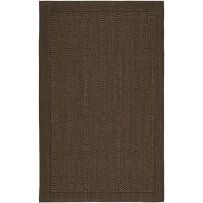 Marsto Chocolate Area Rug Rug Size: Rectangle 3 x 5