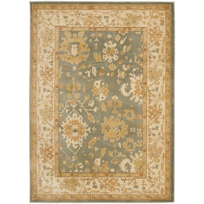 Brice Pale Summer Area Rug Rug Size: Rectangle 96 x 13
