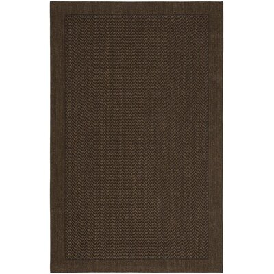 Huxley Chocolate Area Rug Rug Size: Rectangle 8 x 11