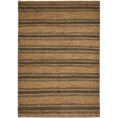 Cliff Stripe Hand-Woven Woodland Area Rug Rug Size: Rectangle 2 x 3