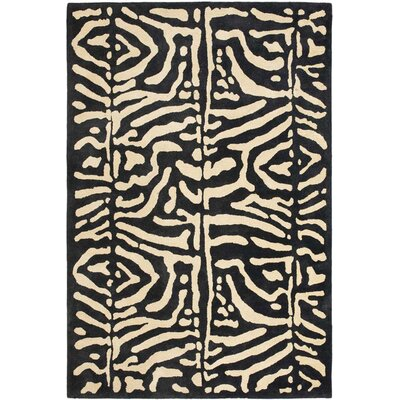 Alden Hand-Tufted Wool Safari Night Area Rug Rug Size: Rectangle 9 x 12