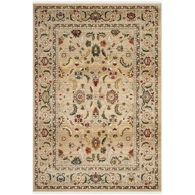Tristan Beige Area Rug Rug Size: Rectangle 9 x 12