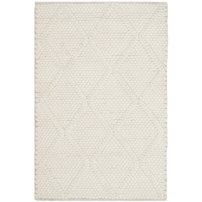 Millie Hand Woven Ivory Area Rug Rug Size: Rectangle 6 x 9