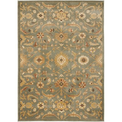 Adyson Blue Area Rug Rug Size: Rectangle 9'6