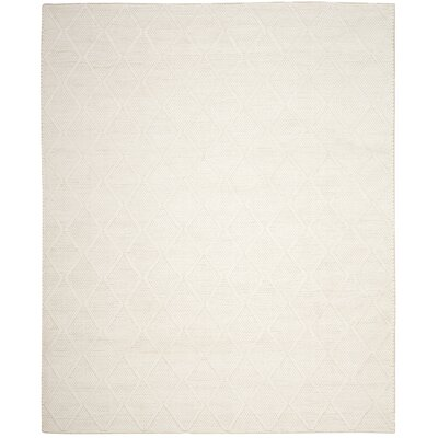 Millie Hand Woven Ivory Area Rug Rug Size: Rectangle 5 x 8
