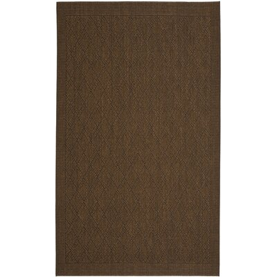 Diamond Bronze Area Rug Rug Size: Rectangle 5' x 8'