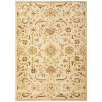 Adyson Cream Area Rug Rug Size: Rectangle 96 x 13