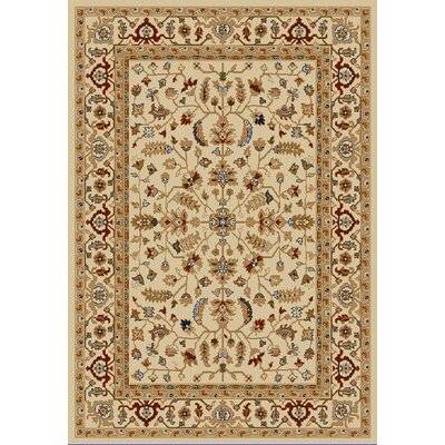 Oswin Cream Area Rug Rug Size: Rectangle 96 x 13
