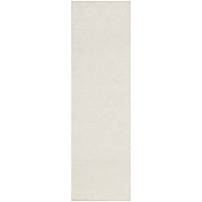 Millie Hand Woven Ivory Area Rug Rug Size: Runner 23 x 8