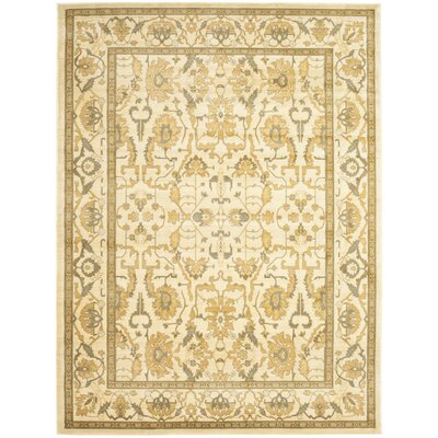 Sheffield Cream Area Rug Rug Size: Rectangle 8 x 11