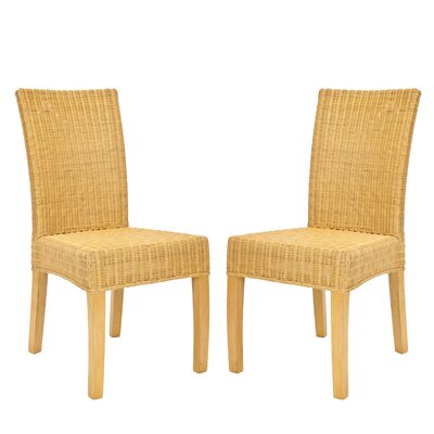 In store financing Charlotte Wicker Parson Chair...