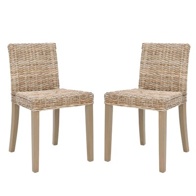 Charlotte Wicker Side Chair