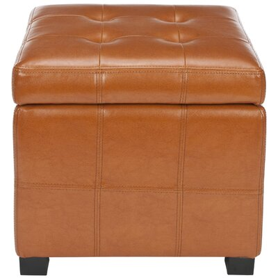William Storage Ottoman Upholstery: Saddle