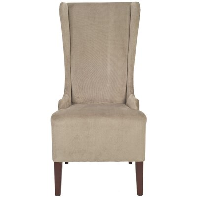 Oliva Cotton Side Chair Upholstery: Mushroom Taupe