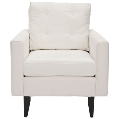 Sophie Armchair Upholstery: White