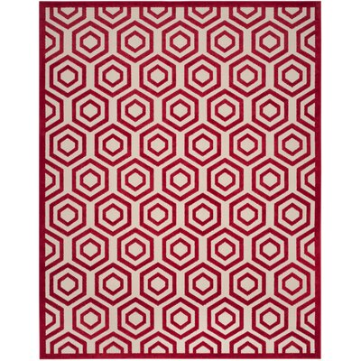 Crown Point Burgundy Area Rug