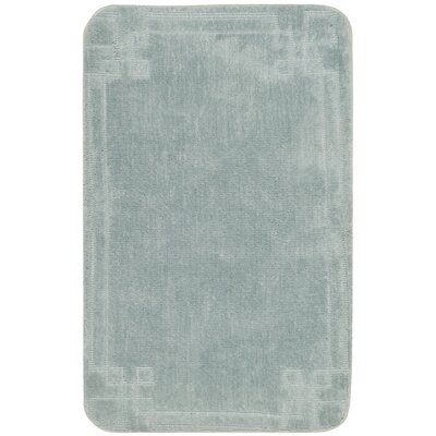 Ellie Bath Rug Color: Teal