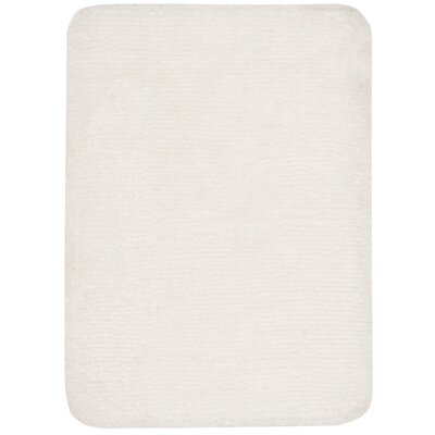 Stahr Bath Rug Color: Cream