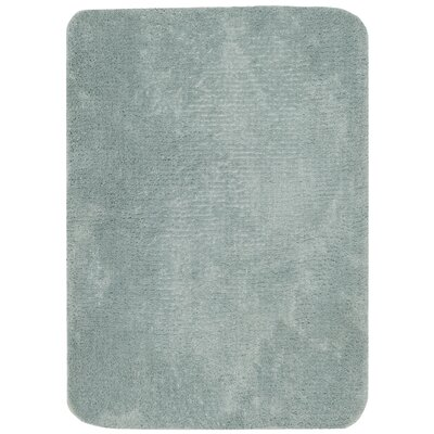 Stahr Bath Rug Color: Teal