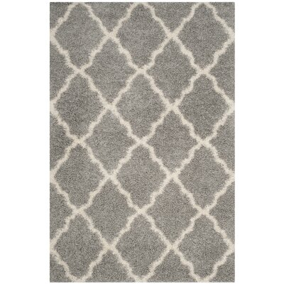 Huntingdon Shag Gray Area Rug