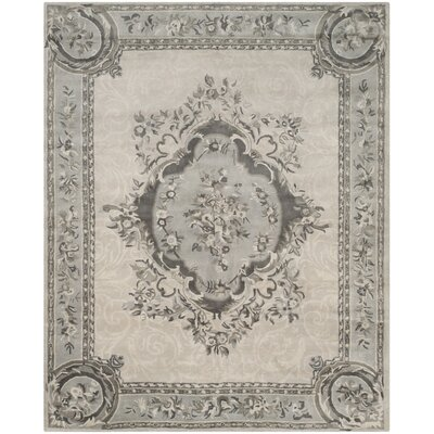 Muhammad Hand Tufted Wool Beige Area Rug Rug Size: Rectangle 83 x 11