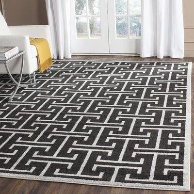 Fehi Black Area Rug Rug Size: Rectangle 9 x 12