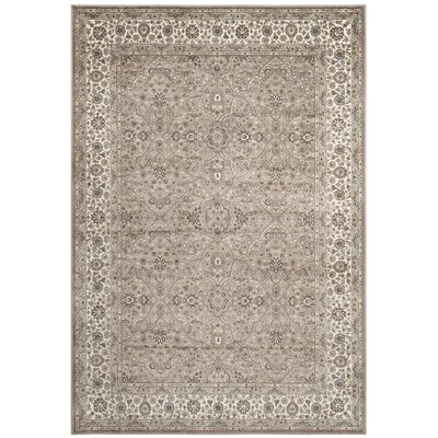 Carolus Traditional Taupe Area Rug Rug Size: Rectangle 8 x 10