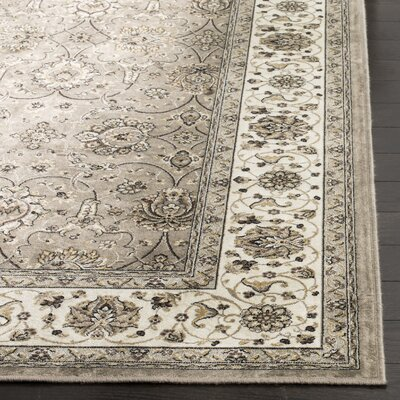Carolus Beige Area Rug Rug Size: Rectangle 53 x 76