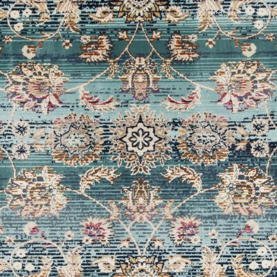 Tolleson Teal Area Rug Rug Size: Square 67