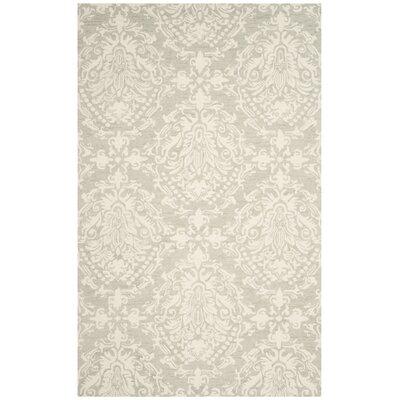 Jahiem Hand Tufted Wool Sage Area Rug Rug Size: Rectangle 5 x 8
