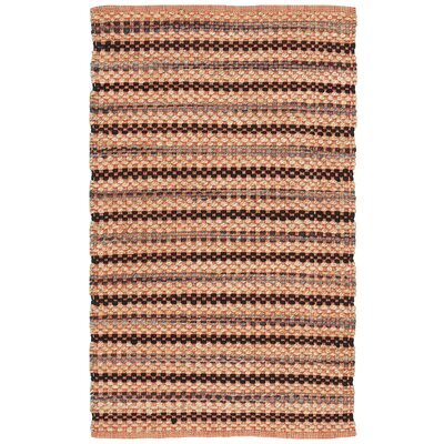 Abhay Hand Woven Orange/Brown Area Rug Rug Size: Rectangle 3 x 5