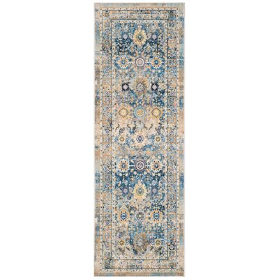 Randolph Blue Area Rug Rug Size: Rectangle 4 x 59