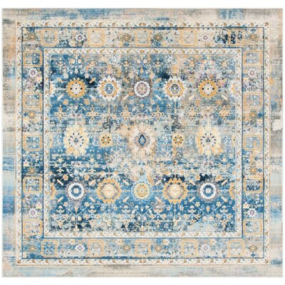Randolph Blue Area Rug Rug Size: Square 67