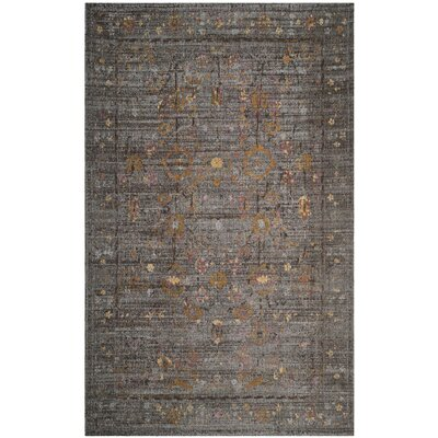 Mercer Gray Area Rug Rug Size: Rectangle 5 x 8