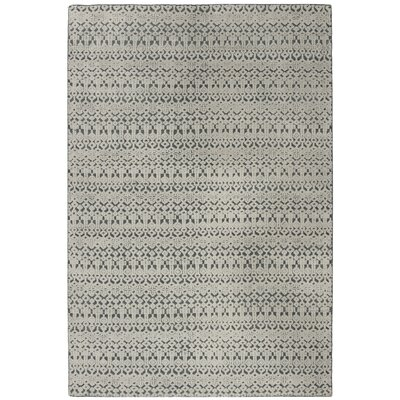 Merriam Hand Tufted Wool Gray Area Rug Rug Size: Rectangle 8 x 10