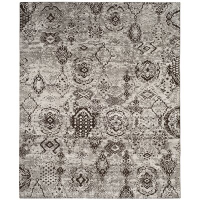 Merriam Hand Tufted Gray Area Rug Rug Size: Rectangle 9 x 12
