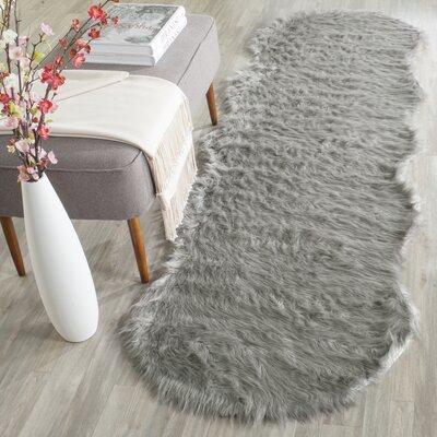 Brennan Dark Gray Area Rug Rug Size: Runner 26 x 8
