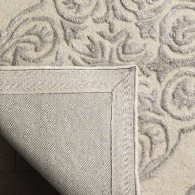 Bernon Hand Tufted Ivory Area Rug Rug Size: Rectangle 8 x 10