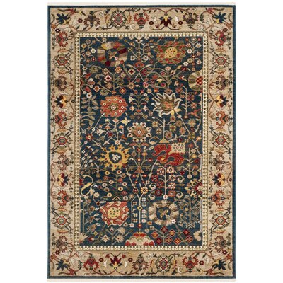 Murphy Blue Area Rug Rug Size: Rectangle 8 x 10