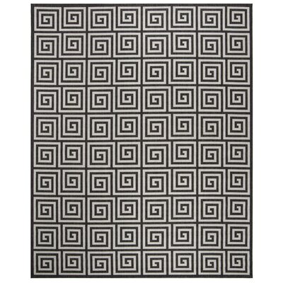 Kallias Light Gray Area Rug Rug Size: Round 67