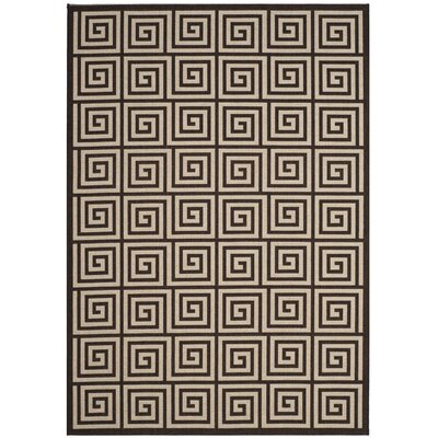 Kallias Contemporary Natural Lattice Area Rug Rug Size: Round 67